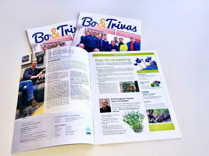 Tidningen Bo & Trivas