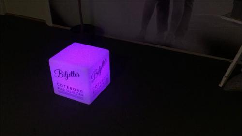 Färgglad LED-kub